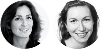 Flora et Marion de l'agence de philosophie Thaé